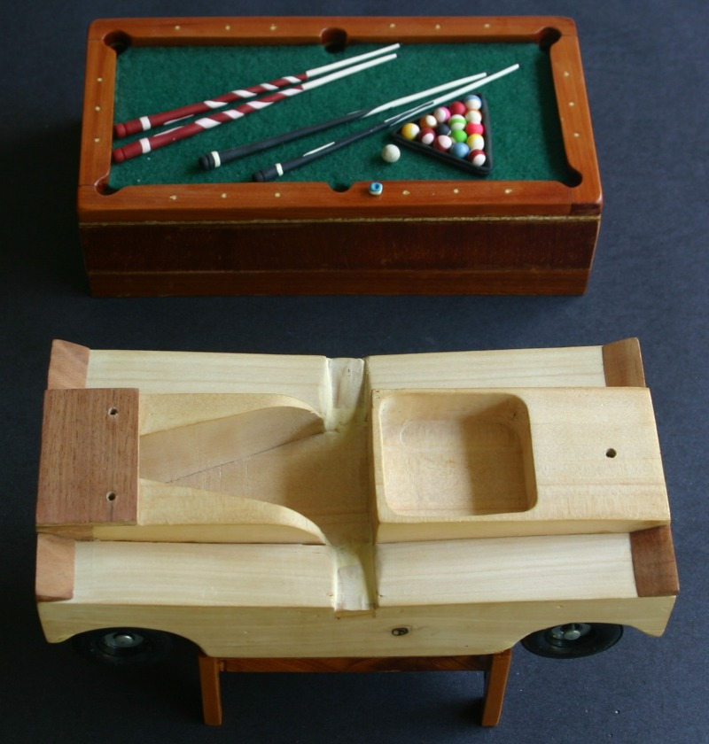 round pool table plans